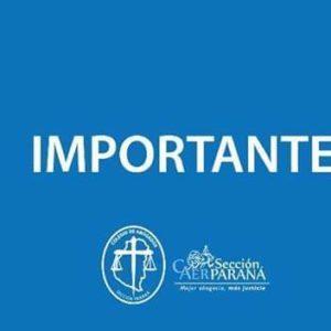 Información Importante: Atención durante la Feria Judicial