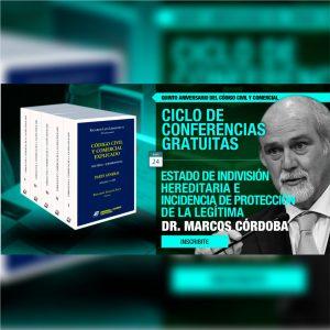 Continúa el ciclo gratuito de conferencias: Estado de Indivisión Hereditaria e Incidencia de la Protección de la Legítima