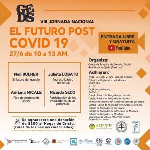 VII JORNADA NACIONAL: El Futuro Post Covid 19