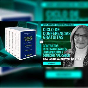 Continúa el ciclo gratuito de conferencias: Contratos Internacionales: Jurisdicción y Derecho Aplicable