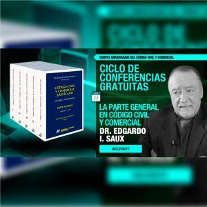 Continúa el ciclo gratuito de conferencias: La Parte General en Código Civil y Comercial