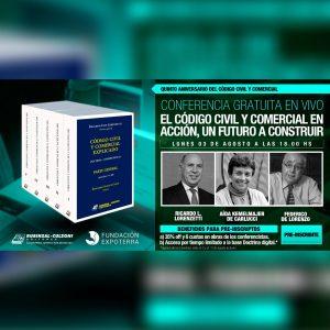 Continúa el ciclo gratuito de conferencias: El Código Civil y Comercial en Acción, un Futuro a Construir