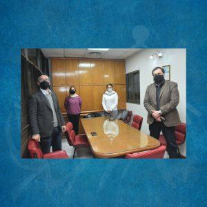Reunión con el Secretario Legal y Administrativo de la Municipalidad de Paraná