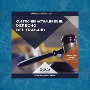 Curso de posgrado: Cuestiones actuales en el derecho del trabajo
