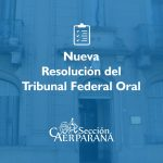 Nueva resolución del Tribunal Oral Federal