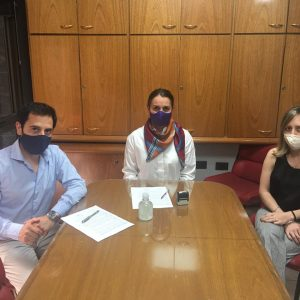 Convenio entre la Sección Paraná y  la Delegación de Ciencias Económicas