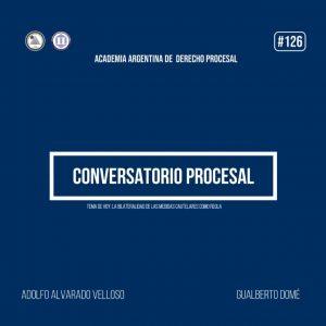 Conversatorio virtual sobre temas procesales