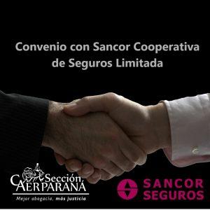 Convenio con Sancor Cooperativa de Seguros Limitada
