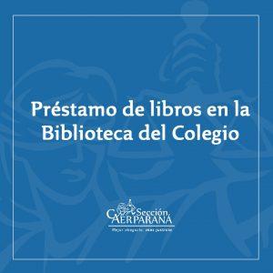 Funcionamiento de la Biblioteca del Colegio