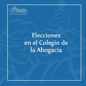 Resoluciones del Tribunal Electoral