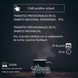 Café Jurídico Previsional