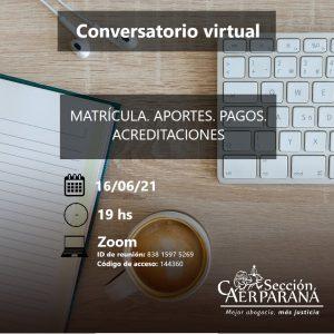 Conversatorio virtual