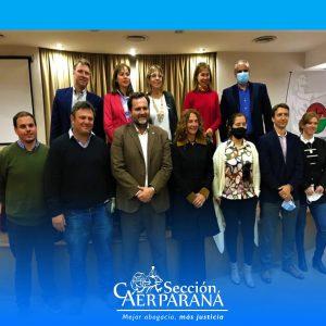 Asumió la nueva Comisión Directiva de la Sección Paraná